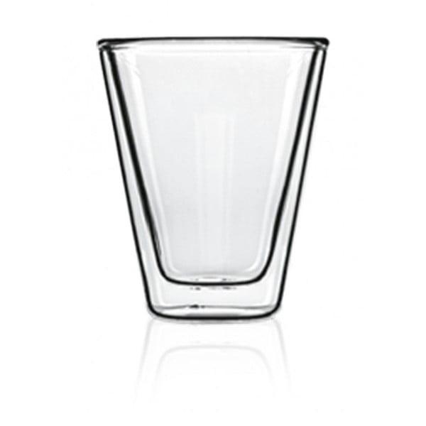 Sada 2 dvoustěnných sklenic Bredemeijer Caffeino