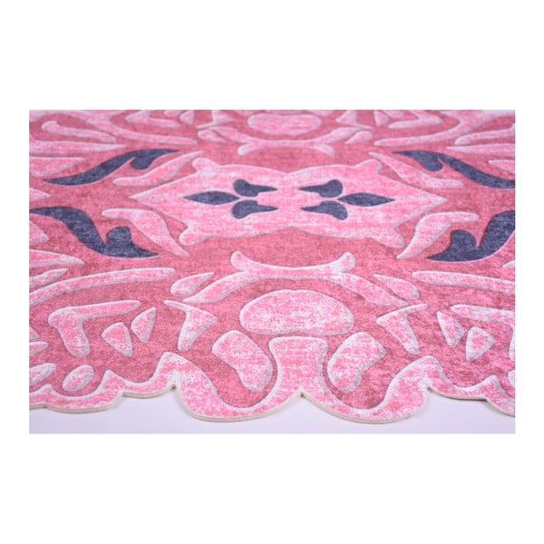 Odolný koberec Vitaus Zindaya Kirmizi, 80 x 150 cm