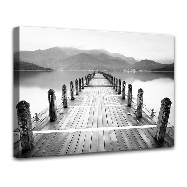Canvas Harmony Molo V fali kép, 75 x 100 cm - Styler