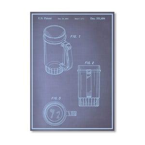 Plakát Beer Stein I, 30x42 cm