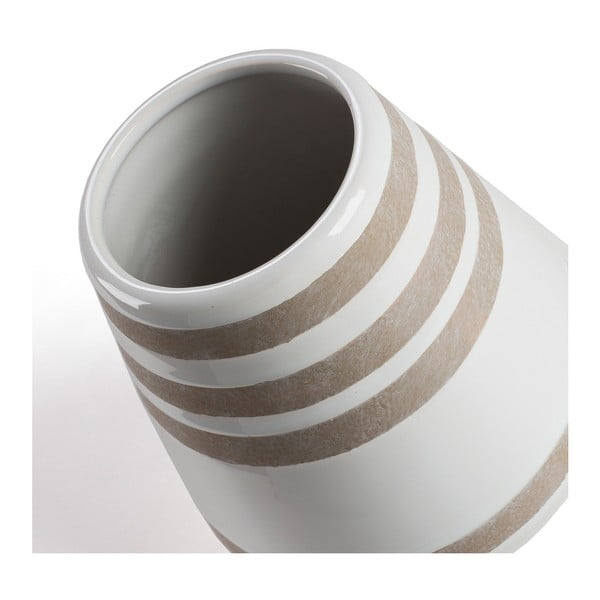 Bílá váza La Forma Arco