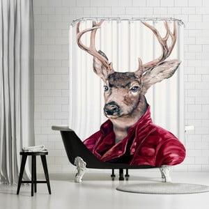 Koupelnový závěs Deer, 180x180 cm