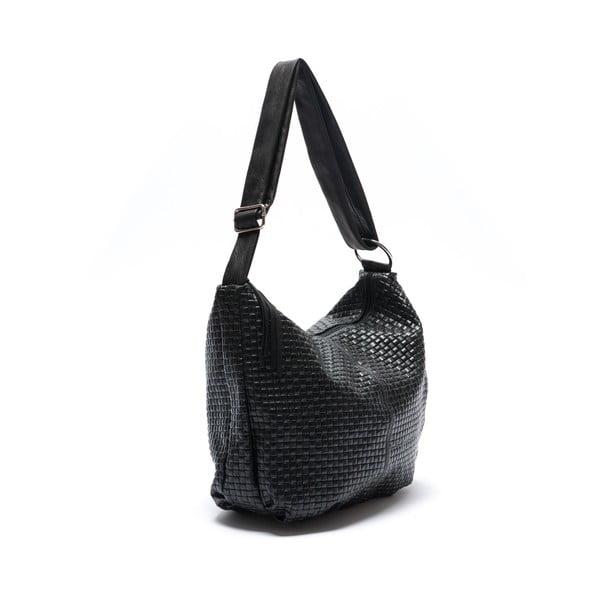 Kožená kabelka Mangotti 8036, černá