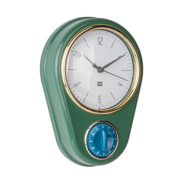 Ceas și cronometru pentru bucătărie PT LIVING, verde închis