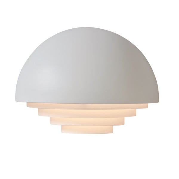 Bílé nástěnné světlo Herstal Motown