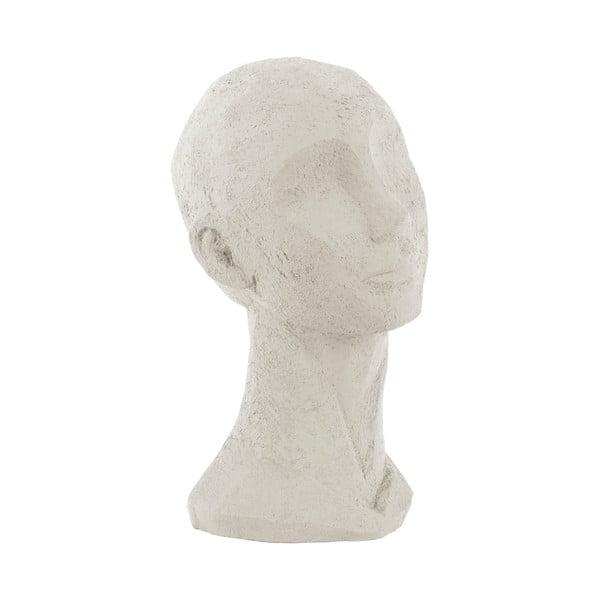 Slonovinově bílá dekorativní soška PT LIVING Face Art, výška 28,4 cm