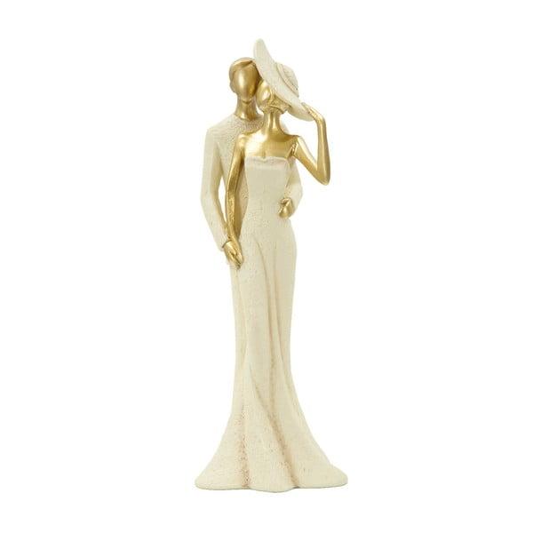 Statuetă decorativă cu detalii aurii Mauro Ferretti Pair