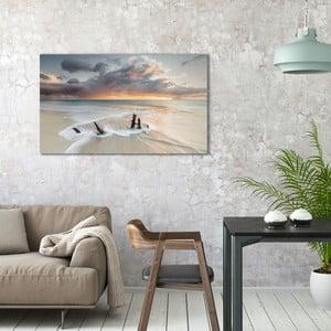 Obraz na plátně OrangeWallz Sea, 70 x 118 cm