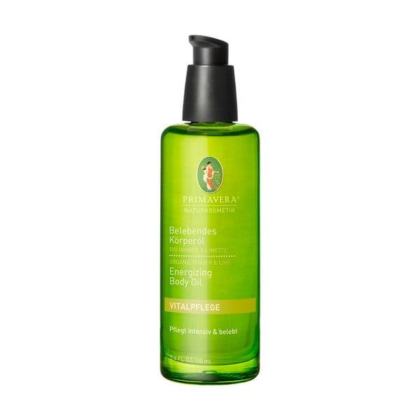 Tělový olej Primavera Zázvor Limeta, 100 ml