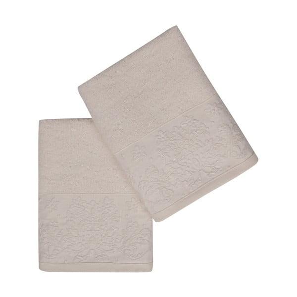 Sada 2 ručníků z čisté bavlny Lisa, 50 x 90 cm