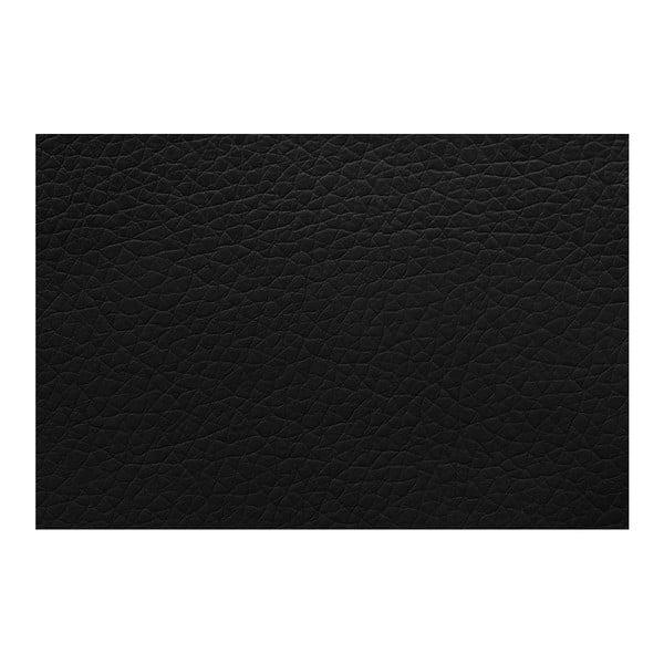 Černo-šedá rohová pohovka s lůžkem na levé straně INTERIEUR DE FAMILLE PARIS Aventure