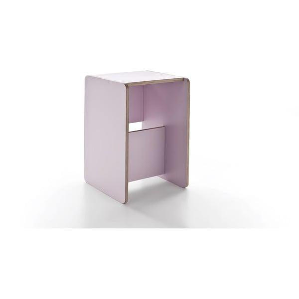Rolle Pink, multifunkční stolek a schůdky