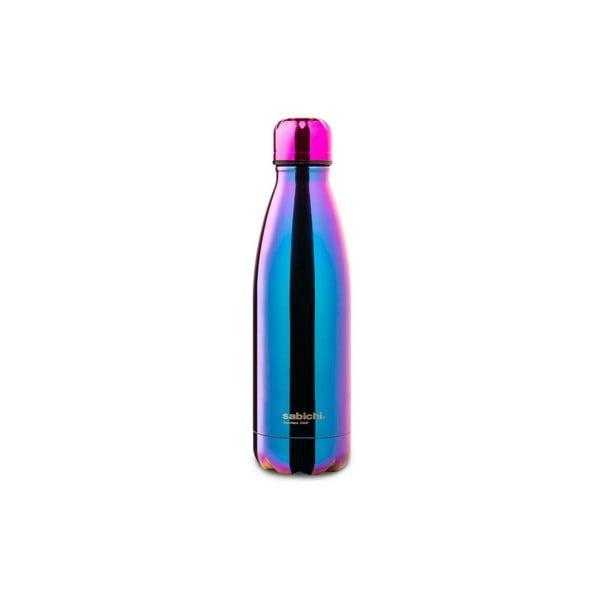Tęczowa butelka ze stali nierdzewnej Sabichi Irridescent, 450 ml