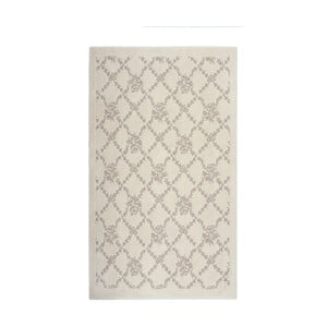 Krémový koberec Floorist Bukle Sarmasik, 80x150cm