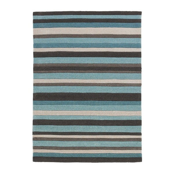 Covor Think Rugs Hong Kong Blue, 120 x 170 cm, albastru