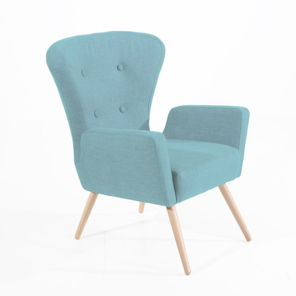 Maurizio világoskék fotel - Max Winzer