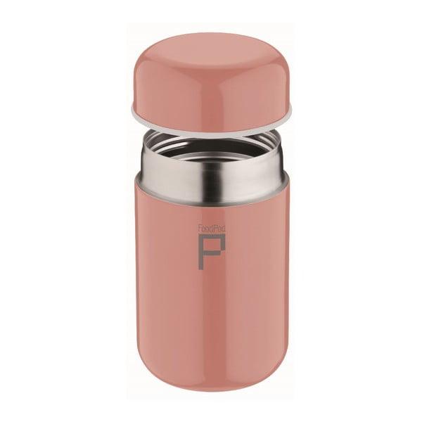 Růžová termoska na polévku Pioneer Foodpod, 400 ml