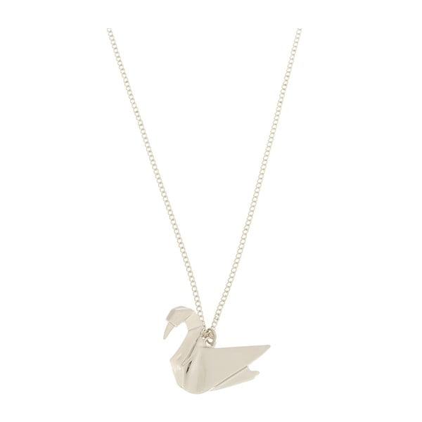 Přívěšek Swan origami