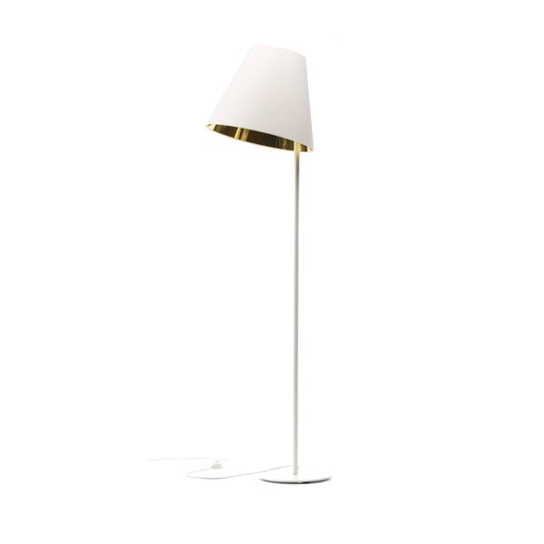 Stojací lampa Book Golden/White