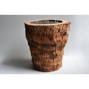 Palmová svíčka Legno s vůní vodního květu, 160 hodin hoření