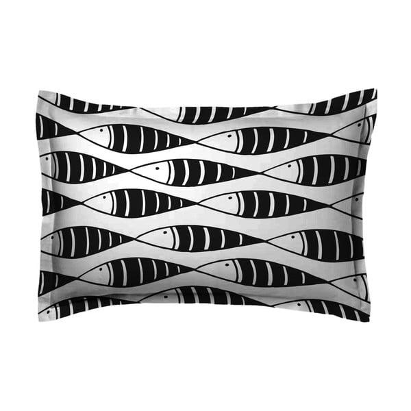Povlak na polštář Hipster Black Fish, 50x70 cm