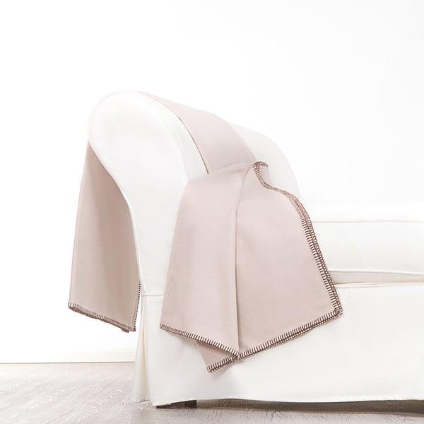 Vlněný pléd Angelico, 140x180 cm