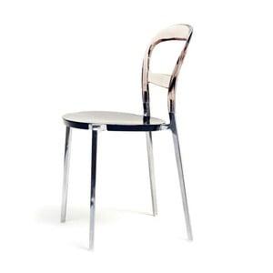 Židle Thalassa Alu Brown/Black