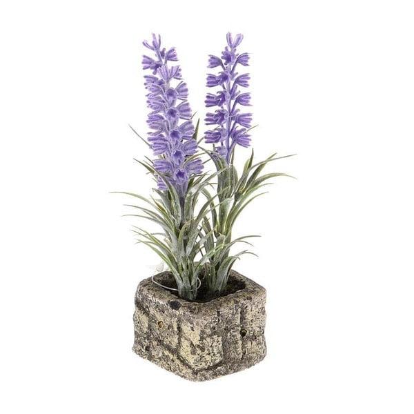 Umělá levandule v květináči In Stone