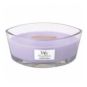 Lumânare parfumată WoodWick Levandă și vanilie, 453g