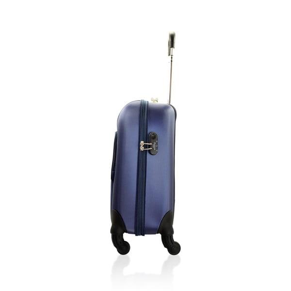 Sada tašky na kolečkách a příruční tašky Vanity Blue, 46 + 12 l