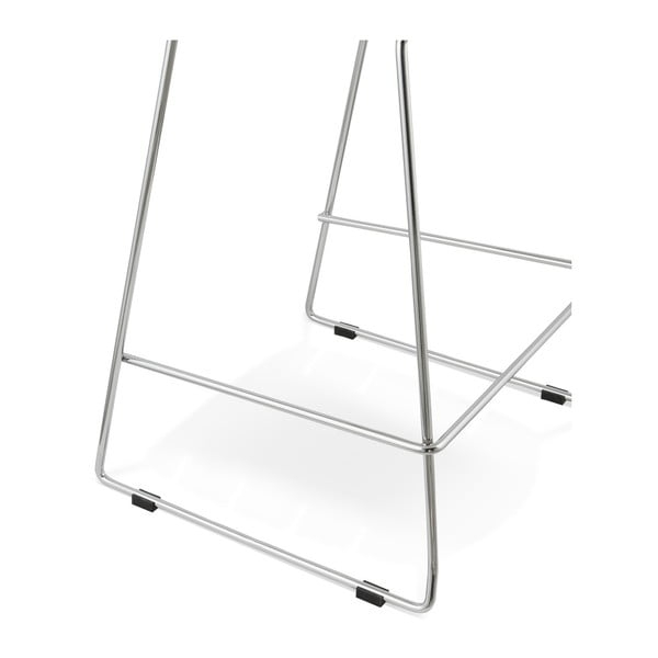 Bílá barová židle Kokoon Reny, výškasedu64cm