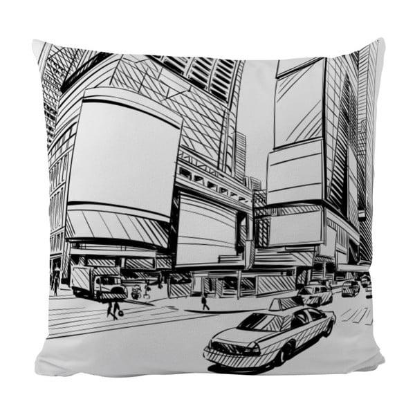 Polštář New York, 50x50 cm
