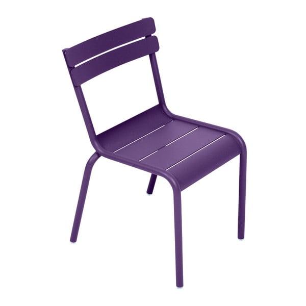 Fialová dětská židle Fermob Luxembourg