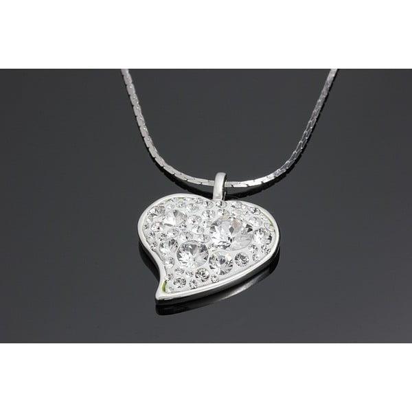 Náhrdelník Swarovski Hearty Crystal