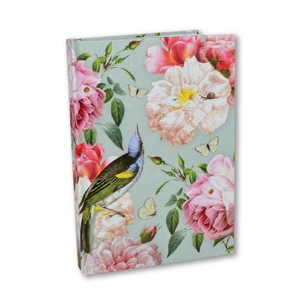 Linkovaný zápisník A5 Botanique by Portico Designs, 256stránek