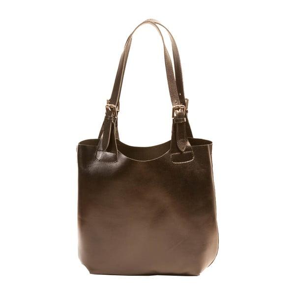 Černá kabelka z pravé kůže Andrea Cardone Stefano