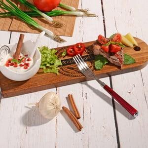 Bambusové servírovací prkénko s miskou Dippy