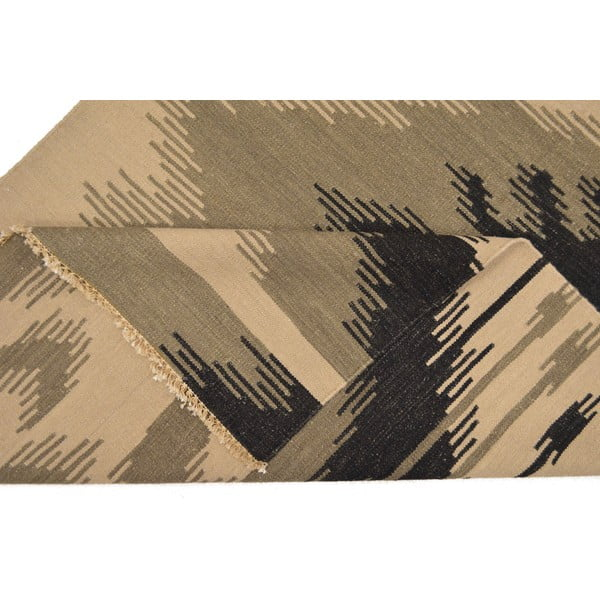 Ručně tkaný koberec Grey Ehtno, 140x200 cm