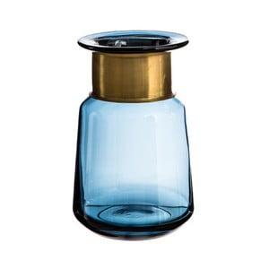 Modrá váza Denzzo Saulo, výška21cm