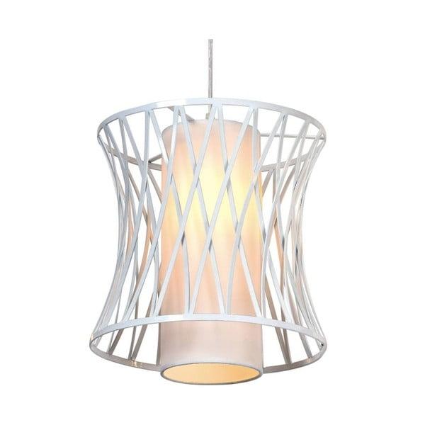 Bílé stropní svítidlo Cage, 100cm