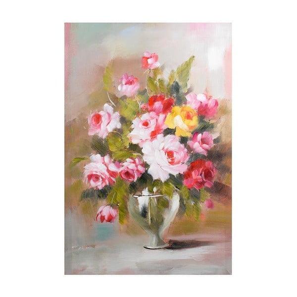 Obraz na plátně Pink Flowers, 60x90 cm