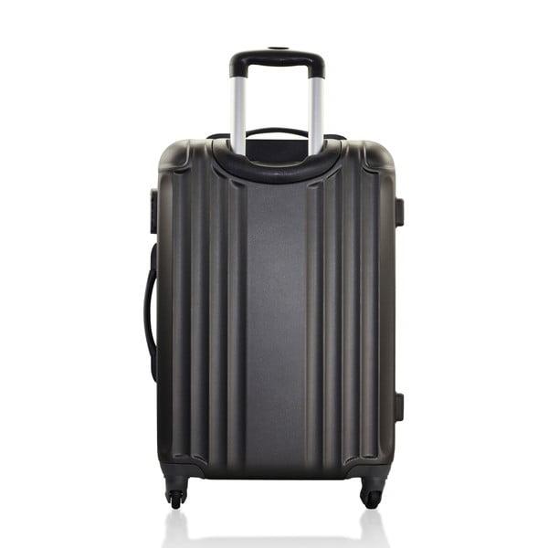 Sada 3 cestovních zavazadel Valises Avec Line Black