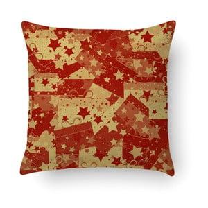 Červený polštář Crido Consulting Christmas Wrapers, 40 x 40 cm
