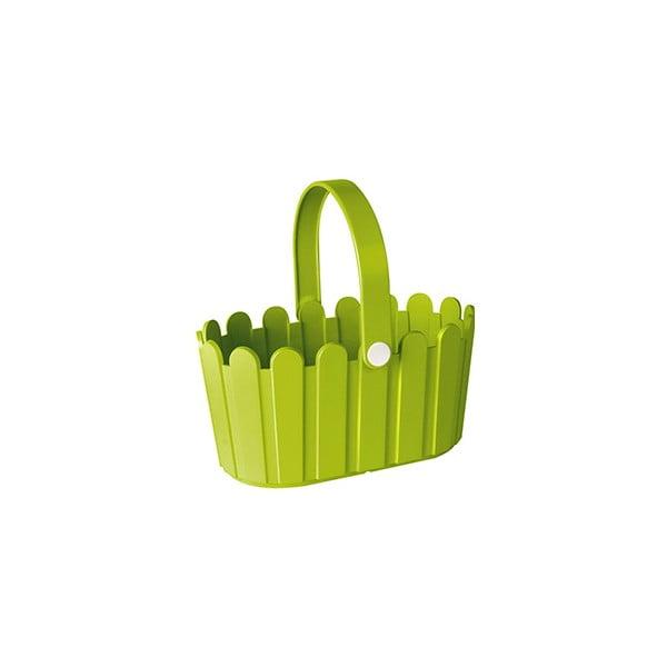 Květináč Landhaus Basket Green