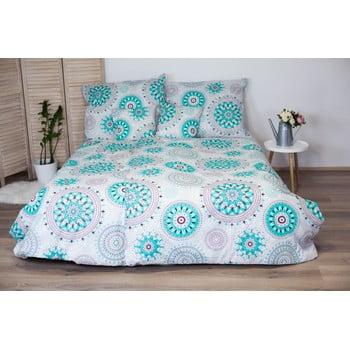 Lenjerie de pat din bumbac pentru o persoană Cotton House Mandala, 140 x 200 cm