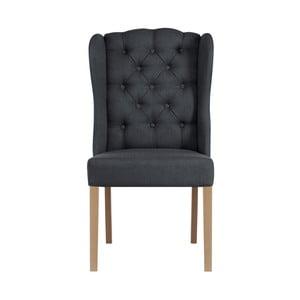 Antracitová židle Jalouse Maison Hailey