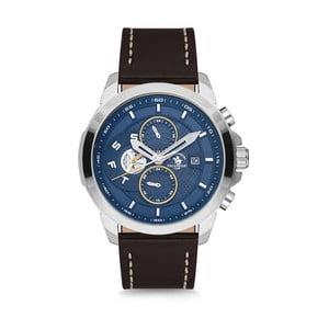 Pánské hodinky s koženým řemínkem Santa Barbara Polo & Racquet Club Bombay