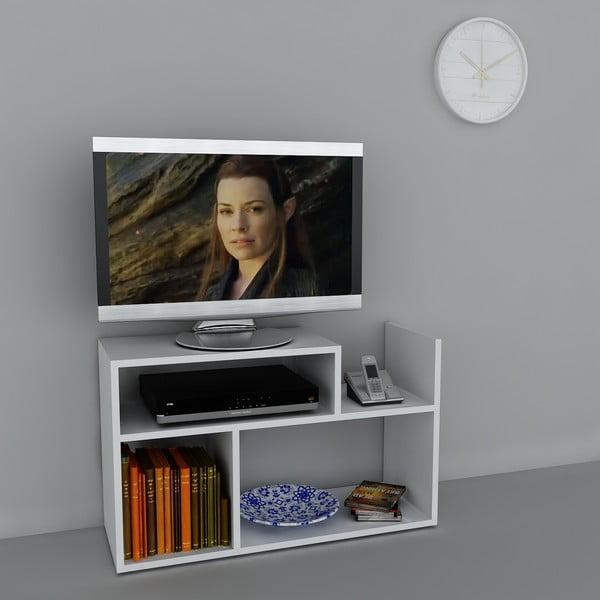Stolek na televizi Carica White, 29,5x90x54 cm