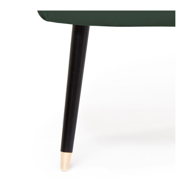 Sada 2 tmavě zelených židlí Vivonita Olivia