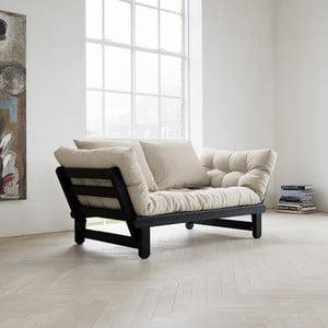 Canapea extensibilă Karup Beat Black/Natural